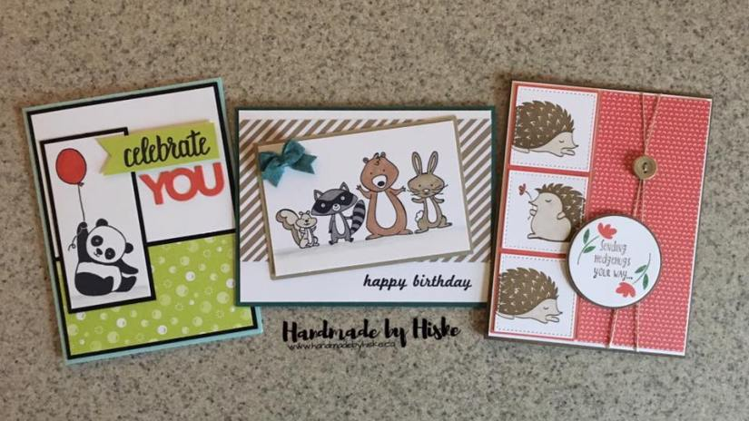 Furry Friends Card Class - March 2018